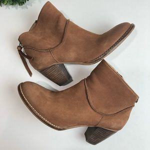 Steven by Steve Madden Brown Booties Size 9
